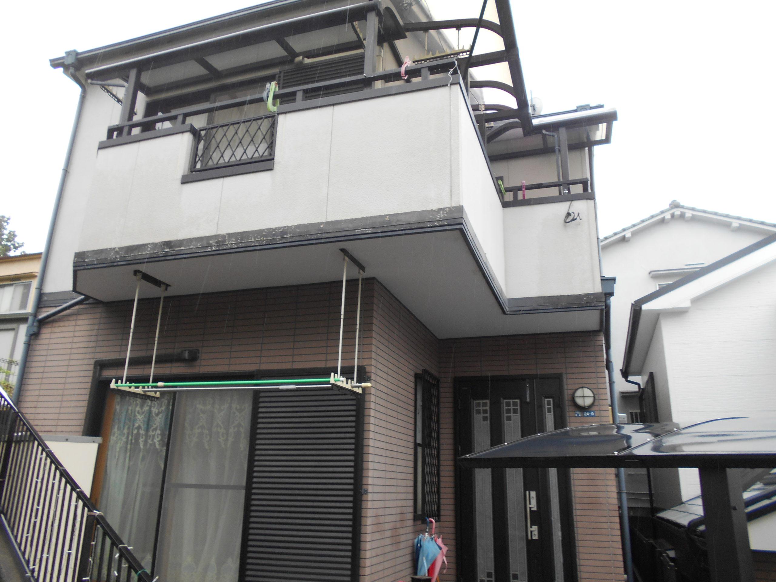 吹田市 O様邸(2階建) 外壁塗装 施工前