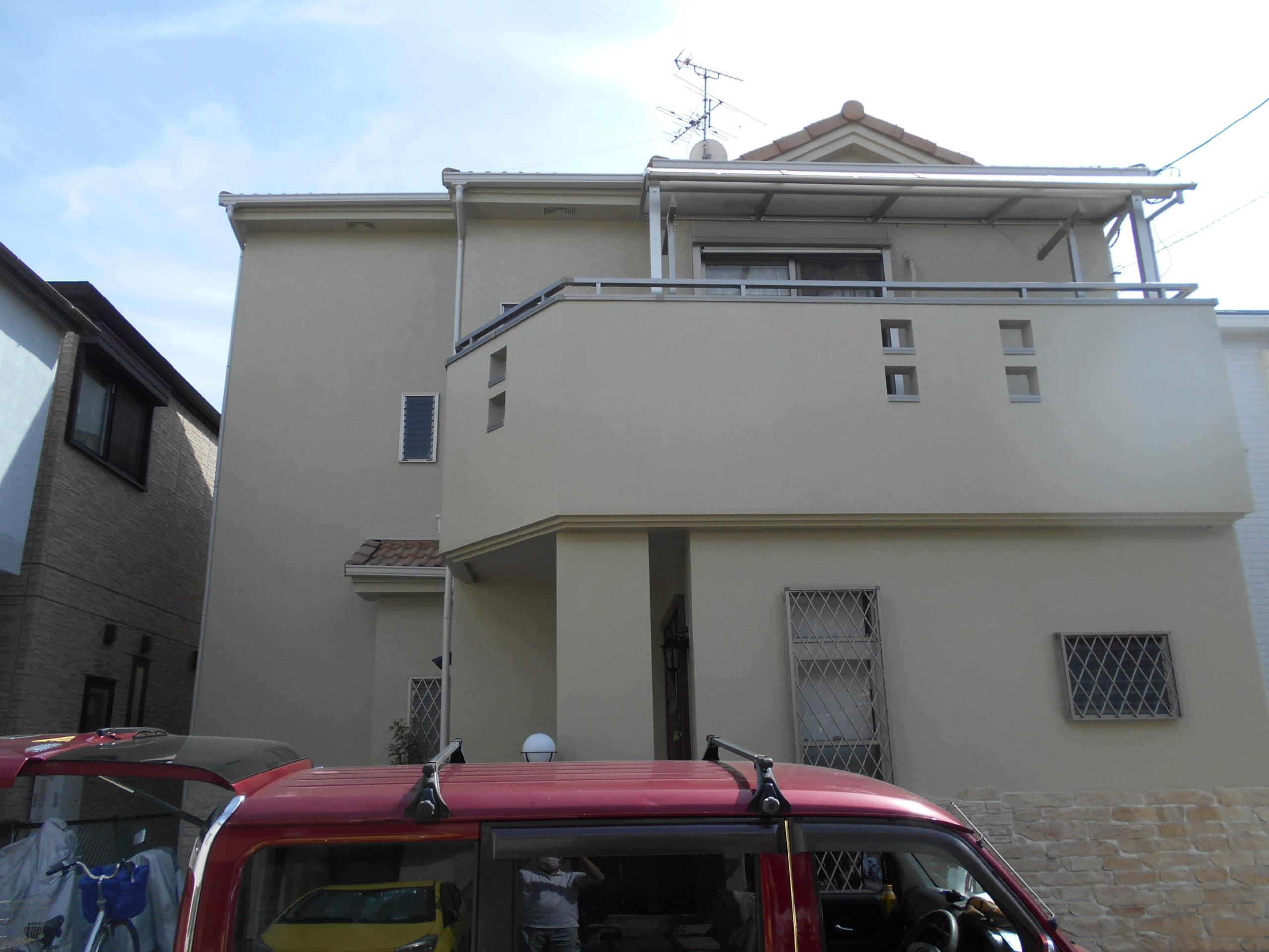 枚方市 U様邸(2階建) 外壁塗装 施工後