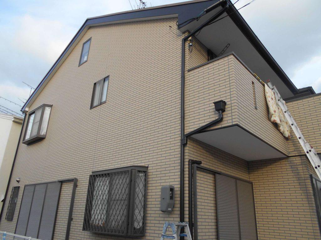 茨木市外壁塗装施工後