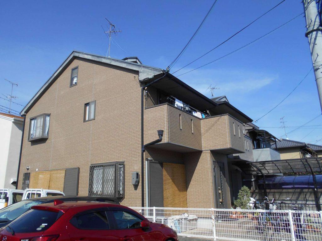 茨木市外壁塗装施工前