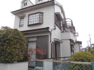 箕面市外壁塗装屋根塗装施工事例