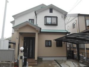 吹田市外壁塗装屋根塗装施工事例