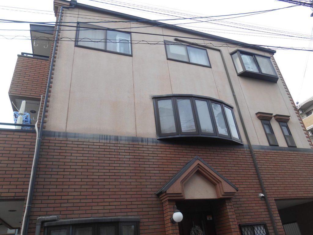吹田市外壁塗装屋根塗装施工前