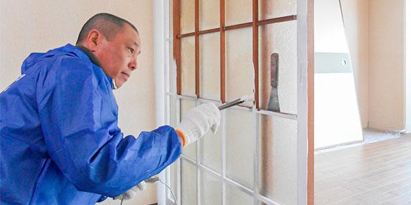 塗装一筋30年の職人が完全自社施工