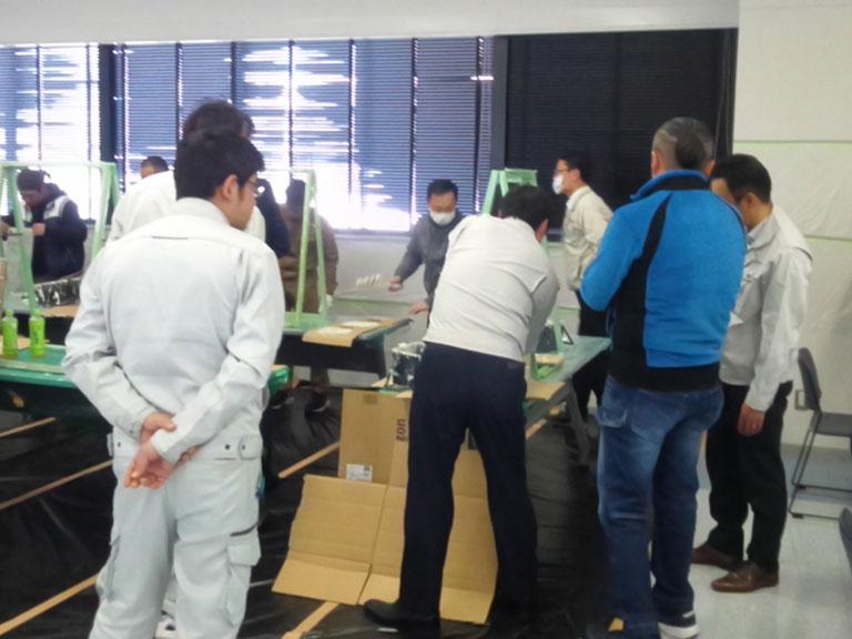 関西ペイントリフォームサミットでの研修の様子